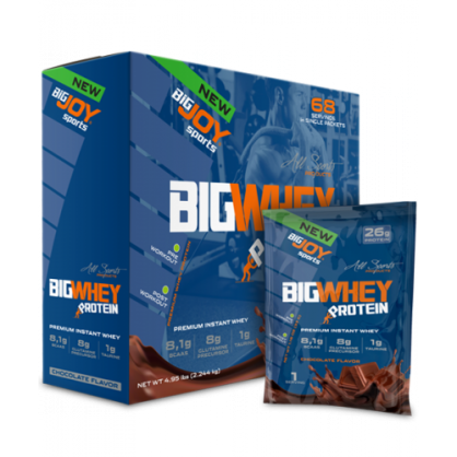 Big Joy Big Whey 2244 Gr 68 Saşe (Çikolata)